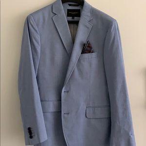 Banana Republic - Men's Blue Textured Sport Coat